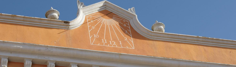 Rellotge de sol Casa Plaja. Hostal Plaja Palafrugell